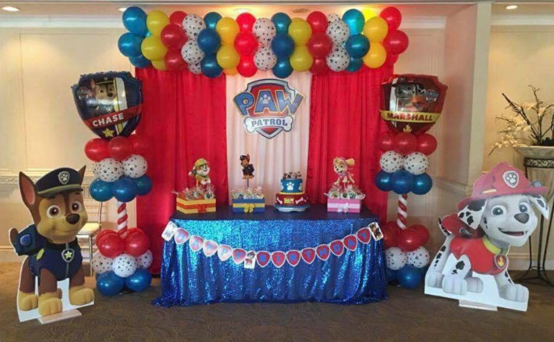 backdrop and balloon decorations for themed parties Woodbridge, Thornhill, Northyork, Toronto and Mississauga